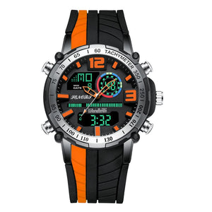 PEN™ Men's Military LED Sports Watch Military Watch PEN™ Fashion Orange