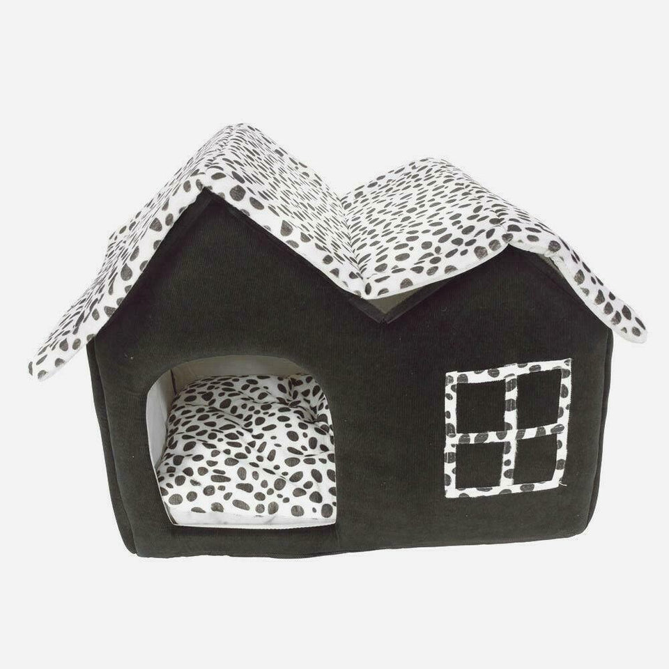 PETLAVISH™ Calming Dog/Cat HOUSE Bed - Cozy Plush Retreat & Sleeping Kennel Pet House PETLAVISH™ Fashion