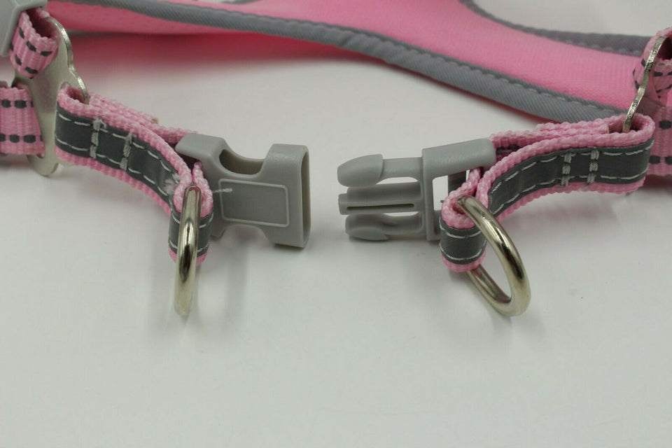 PETLAVISH™ Reflective Dog Vest Harness Leash Collar Set No Pull Adjustable for XS-L Dog Harness PETLAVISH™