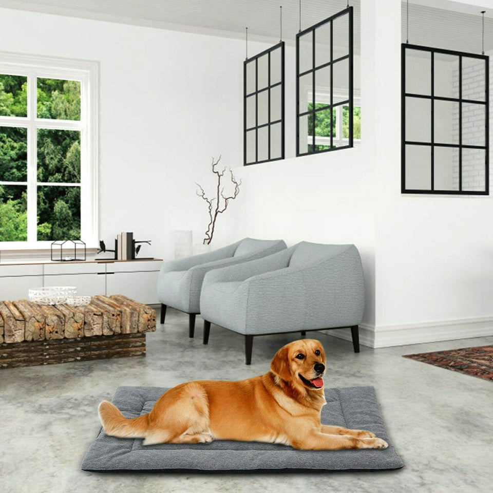 PETLAVISH™ Reversible Calming Mat Dog/Cat Bed - Breathable Cool + Warm Polar Fleece Pet Bed PETLAVISH™ Fashion