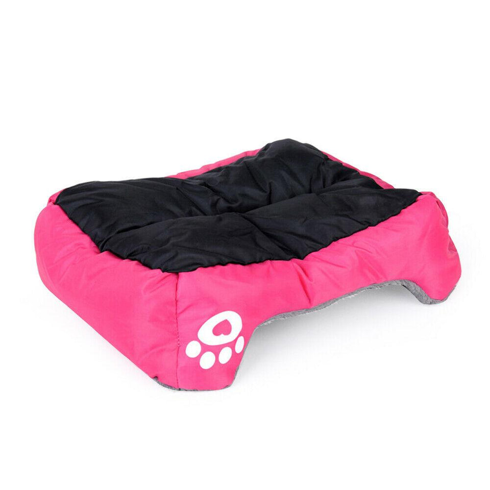 PETLAVISH™ UltraComfy Dog/Cat Breathable Bed: S-XXXL Cozy Fleece Cushion Paw Mat Kennel Pet Bed PETLAVISH™ Fashion
