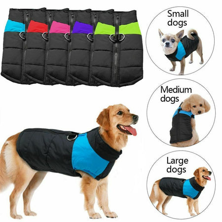 PETLAVISH™ Warm Dog Vest Jacket w/ Harness - Waterproof Fleece S-7XL Dog Vest Jacket PETLAVISH™ Fashion