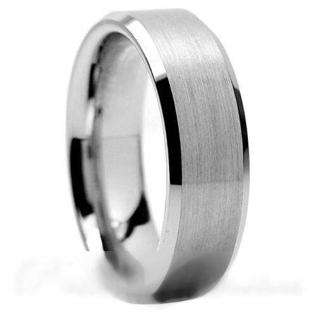 PJewelz™ Men's Tungsten Carbide Wedding Band Ring Black/Gold/Brushed Silver (Size 6-15) men's ring PJewelz™ Fashion
