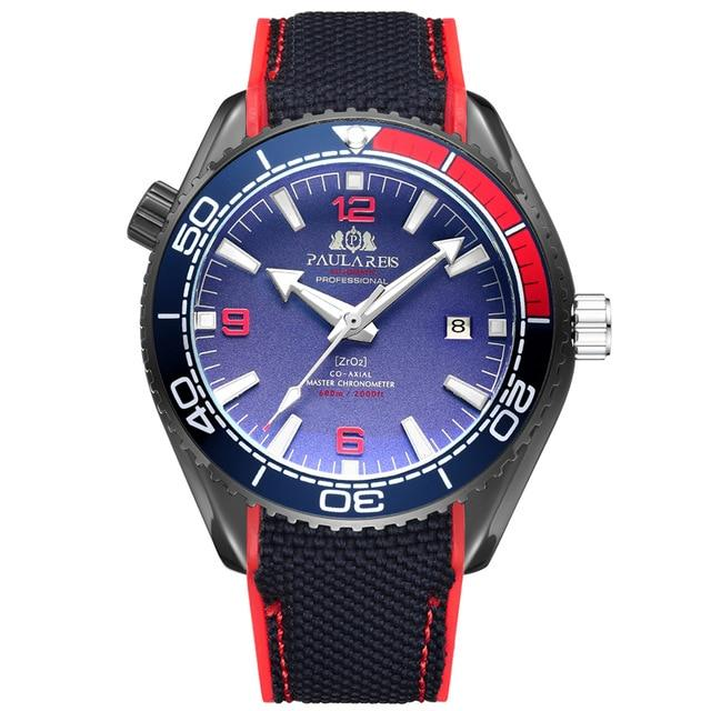 PLR™ Men's Classic Sport Watch Casual Watches PMax™ Black Red Blue
