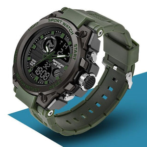 SAN™ Men's Military Sports Watch Military Watch SAN™ Fashions Army Green