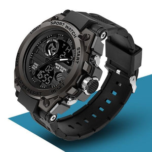SAN™ Men's Military Sports Watch Military Watch SAN™ Fashions Black