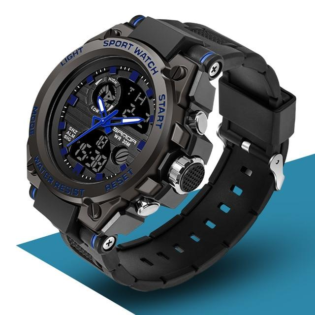 SAN™ Men's Military Sports Watch Military Watch SAN™ Fashions Blue