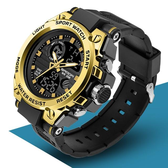 SAN™ Men's Military Sports Watch Military Watch SAN™ Fashions Gold