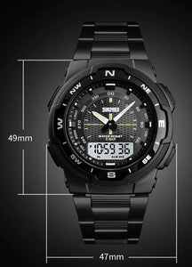 SMax™ Men's Business Sport Quartz Wrist Watch Digital Watches SMax™ Fashion