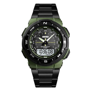 SMax™ Men's Business Sport Quartz Wrist Watch Digital Watches SMax™ Fashion Army Green
