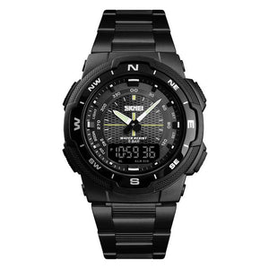 SMax™ Men's Business Sport Quartz Wrist Watch Digital Watches SMax™ Fashion Black Black