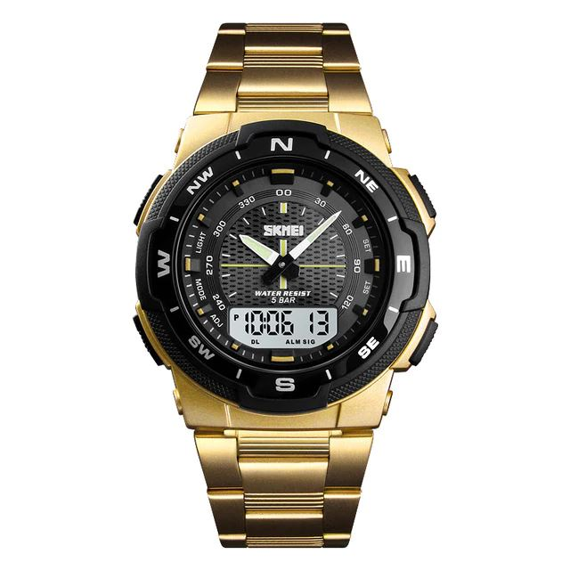 SMax™ Men's Business Sport Quartz Wrist Watch Digital Watches SMax™ Fashion Gold