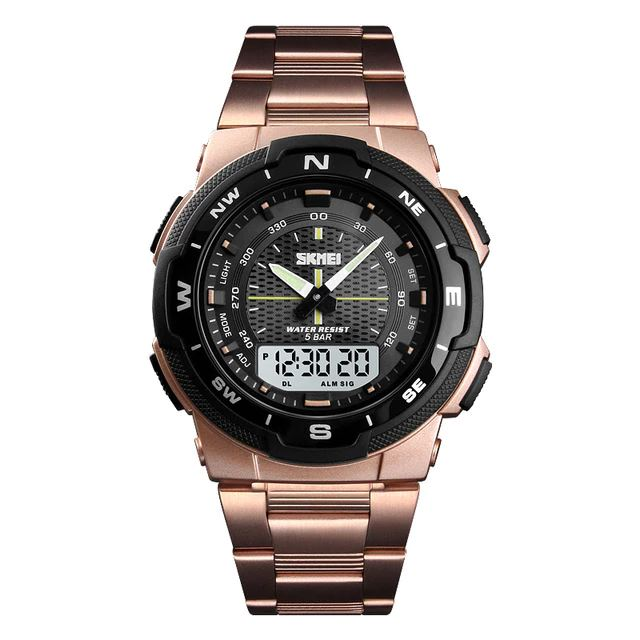 SMax™ Men's Business Sport Quartz Wrist Watch Digital Watches SMax™ Fashion Rose Gold