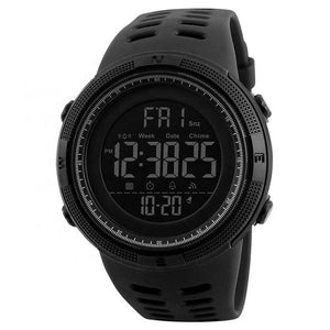 SMAXElite™ Men's Military Sport LED Digital Waterproof Wrist Watch 1D military watch SMAXElite™ Fashion Black