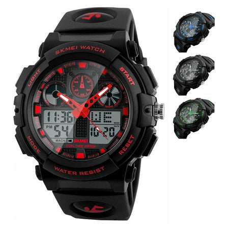 SMAXElite™ Men's Military Sport Quartz LED Digital Waterproof Wrist Watch 1E military watch SMAXElite™ Fashion