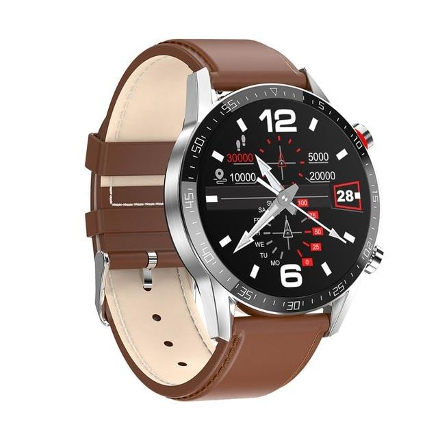 SMAXPLUS™ EDGE Men's SMARTWATCH Call/Text, Fitness & Health Tracker, Heart Rate Monitor, Bluetooth (Android/IOS) smartwatch SMAXPlus™ Edge brown