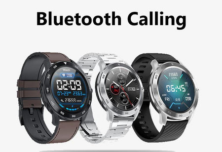 SMAXPLUS™ ZOOM Men's SMARTWATCH Call/Text, Fitness & Health Tracker, Heart Rate Monitor, Bluetooth (Android/IOS) smartwatch SMAXPlus™ ZOOM