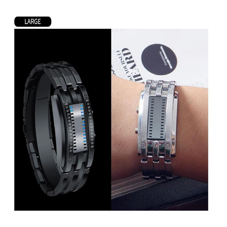 SMAXPro™ Futuristic Digital Fashion Sport Wrist Watch (Highly Creative) Watch EliteDealsOutlet