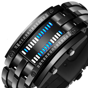 SMAXPro™ Futuristic Digital Fashion Sport Wrist Watch (Highly Creative) Watch EliteDealsOutlet Black Large
