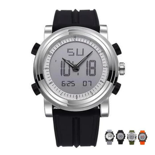 SMAXPro™ Men's Sport Quartz Analog+Digital Waterproof Wrist Watch casual watch SMAXPro™ Fashion Black