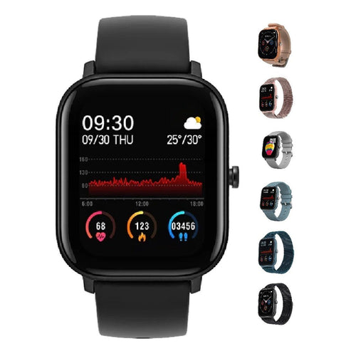SMaxPro2™ SMART Color Touch Heart Rate Activity Tracking IOS/Android Smartwatch Smart Watches SMaxPro2™ Fashion