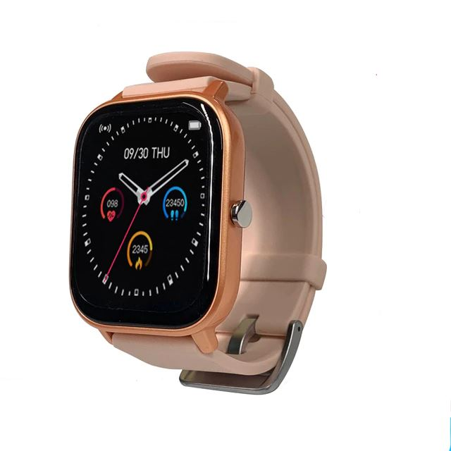 SMaxPro2™ SMART Color Touch Heart Rate Activity Tracking IOS/Android Smartwatch Smart Watches SMaxPro2™ Fashion Rose Gold