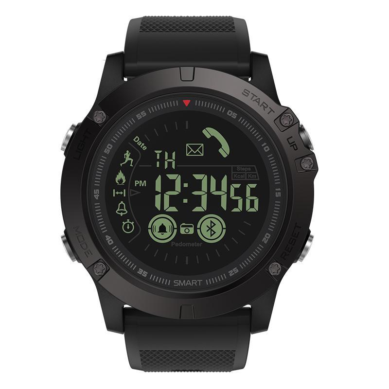 SMAXProZ™ SMART Waterproof Sport Military Activity Tracking Smartwatch smartwatch SMAXProZ™ Fashion Black