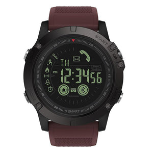 SMAXProZ™ SMART Waterproof Sport Military Activity Tracking Smartwatch smartwatch SMAXProZ™ Fashion Burgundy