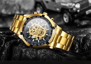 TWN™ Men's Skull Skeleton Stainless Steel Watch Specialty Watch TWN™ Fashion