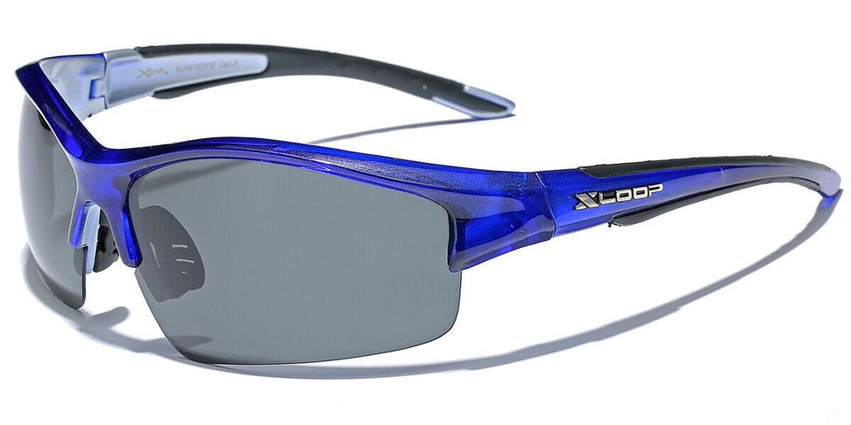 XLow™ Men's Sports Polarized Sunglasses sunglasses XLow™ Fashions Blue