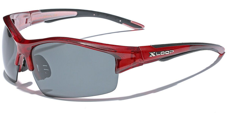 XLow™ Men's Sports Polarized Sunglasses sunglasses XLow™ Fashions Red