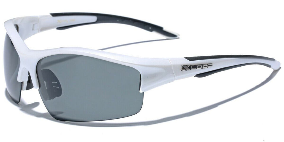 XLow™ Men's Sports Polarized Sunglasses sunglasses XLow™ Fashions White