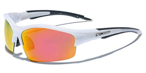 XLow™ Men's Sports Polarized Sunglasses sunglasses XLow™ Fashions White - Fire Lens