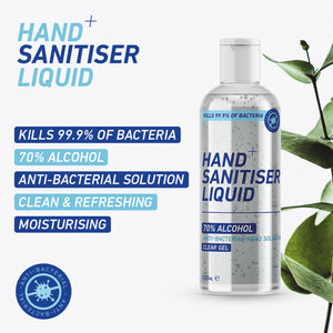 100ml Sanotize Hand Sanitiser - Economy Liquid Spray