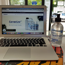 Load image into Gallery viewer, 300ml Sanotize Hand Sanitiser 70% - Premium Gel