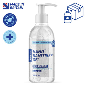 16 x 300ml Sanotize Hand Sanitiser 70% - BULK *Only £4.99 per unit