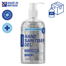 Load image into Gallery viewer, 12 x 500ml Sanotize Hand Sanitiser 70% - BULK *Only £7.49 per unit