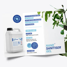 Load image into Gallery viewer, 5 litre Sanotize Hand Sanitiser 70% - Premium Gel