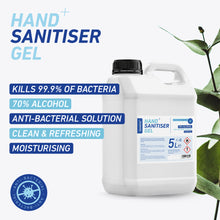 Load image into Gallery viewer, 5 x 5 litre Sanotize Hand Sanitiser 70% - BULK *Only £29.99 per unit