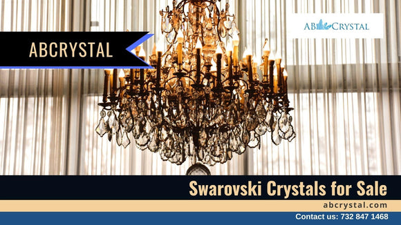 Fill the Interiors of Your Habitat with the Radiance of Swarovski Crystals for Sale