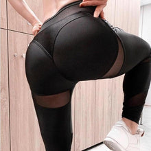 Load image into Gallery viewer, Designer Sexy Mesh Push Up Leggings