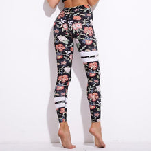 Load image into Gallery viewer, Designer Floral Push Up Leggings