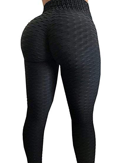 Peach Lust Tummy Control Push Up Fitness Leggings