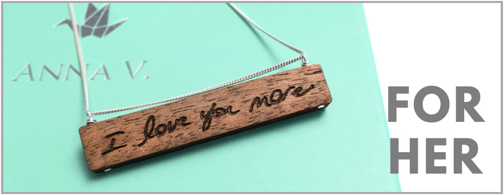 5th anniversary gifts for her & 5-Year Anniversary Gifts u2022 Meaningful Personalized Wood Gifts