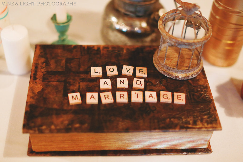 Love Marriage Scrabble