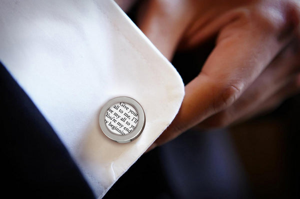 Custom Cufflinks or Tie Clip