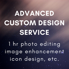 Advanced Custom Design Service (1 hour)