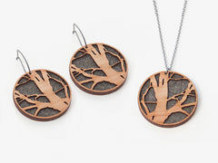 5 year anniversary wood jewelry