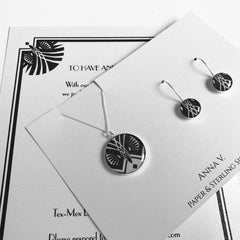 Wedding Invitation Necklace