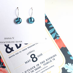 Wedding Invitation Earrings